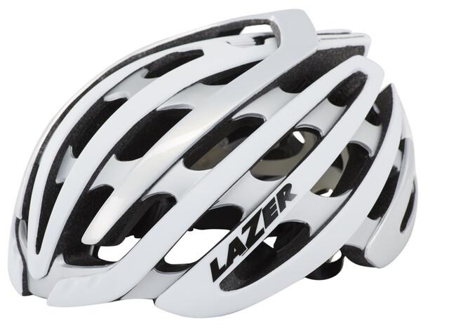 Lazer Z1 casco per bici bianco/argento